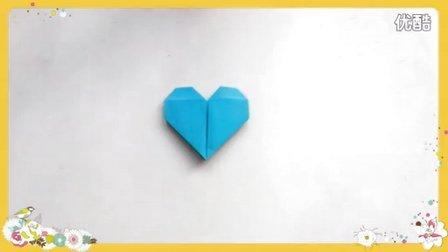 手工折纸大全 爱心折纸系列(4)爱心书签