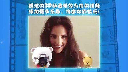 【BOOMi Camera】动画大片特效应用