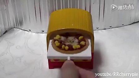 【喵博搬运】【日本食玩-可食】做两份披萨(•̀ᴗ•́)و ̑̑求订阅