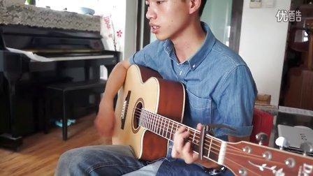学员弹唱  夜空中最亮的星 东城西城朝阳石景山学吉他 红橘子吉他培训中心