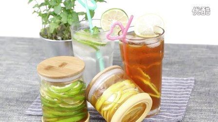 CookTime--夏日的柠檬 自制蜂蜜柠檬茶 青柠薄荷苏打水