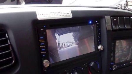 东风天龙420启航版拖车-载频倒车影像系统-DVD显示