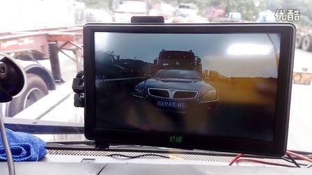 柳汽乘龙挂车-载频倒车影像系统-导航仪显示