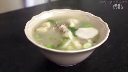 【大吃货爱美食】萌萌哒肉姐教你做美味的韩式芋头汤~ 150911