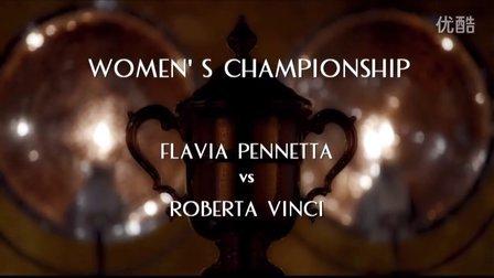 2015美国网球公开赛女单决赛 佩内塔VS文奇 (自制HL)