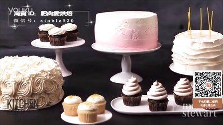 【微博@肥肉ai烘焙】视频淘宝扫码有礼! 奶油霜甜品桌组合 韩式裱花蛋糕