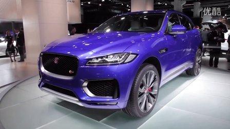 AutoGuide法兰克福车展现场报道 2017捷豹Jaguar F-Pace