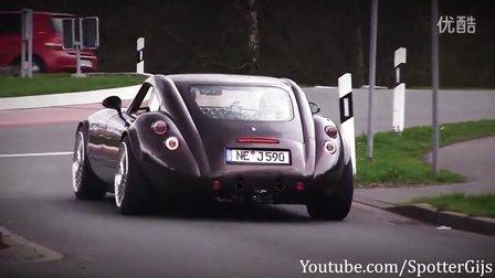 比AMG响!威兹曼 MF4 GT V8 排气声浪