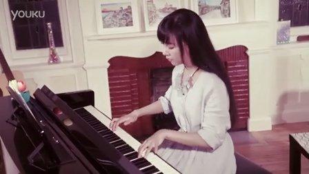女神钢琴弹唱花千骨插曲《年轮》