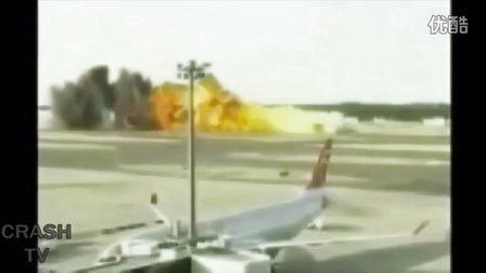 2015飞机车祸看着就揪心!坠机