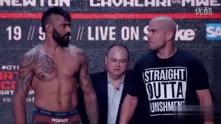 Bellator Dynamite称重集锦:坏小子Ortiz轻重量级冠军挑战赛前称重 怒视对手