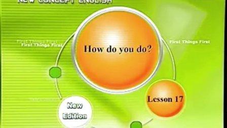 新概念英语第一册17,18._标清