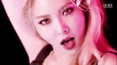 4min泫雅欧美性感风《因为红MV》完整版大公开