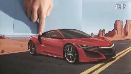 【冯导】Honda最有创意的折叠纸动画展示本田汽车发展历史