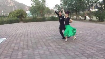 葫芦岛南票广场交谊舞 自由步2