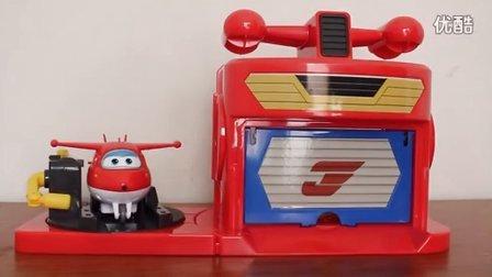 超级飞侠 迪斯尼玩具 乐迪变形机器人 乐迪发射机库套装