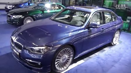 2015法兰克福车展BMW Alpina B6 BiTurbo Coupe