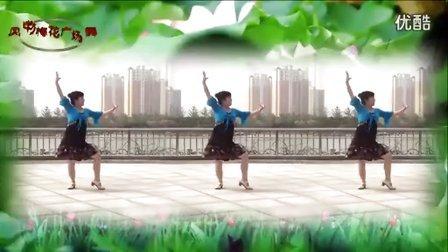 风中梅花广场舞: 简单印度舞【我爱你哦】 编舞:廖弟 永不疲倦老师制作  演示:梅花