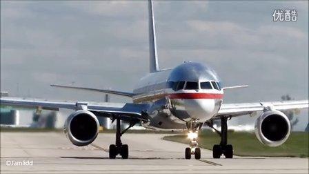 超近距离拍摄飞机起飞- MD11, 777, 787, A330, A300, 767, MD81, 757, A321