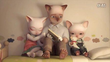 【佳片赏析】 人世间最残酷的莫过如此 《三只小猫》3D动画短片