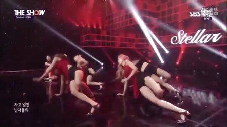 韩国人气性感长腿女团人气歌谣火辣热舞Stellar - Vibrato