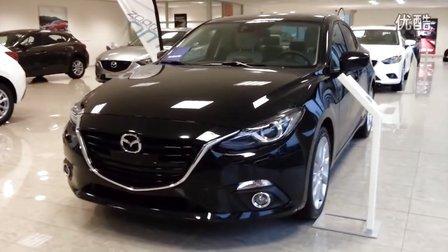 马自达3昂克赛拉黑色_Mazda 3 Skyactive GMT 2015 In Depth Review Interior Exterior