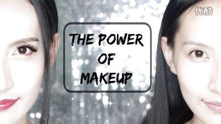 半颜妆之化妆的力量丨THE POWER OF MAKEUP丨Oops_Honey