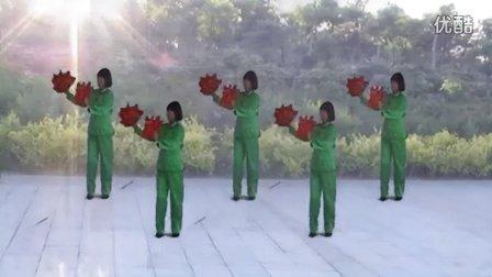 韩黎纱广场舞手娟舞红红的日子
