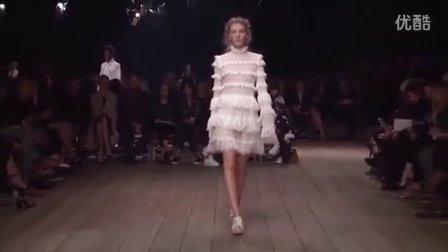 果冻时尚巴黎时装周Alexander McQueen亚历山大麦昆2016春夏时装秀