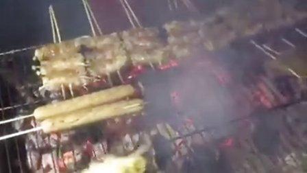 烤你妹地摊烧烤 烤茄子 烤串 烧烤 羊肉串五花肉卷金针蘑
