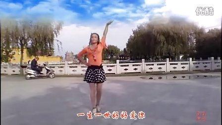 荷花阿萍广场舞《darling我爱你》