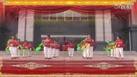 航天佳苑广场舞第一套腰鼓