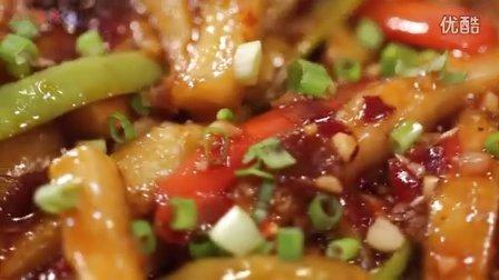 【香哈菜谱为爱做道菜】鱼香茄条-美食家常菜做法食谱视频教学