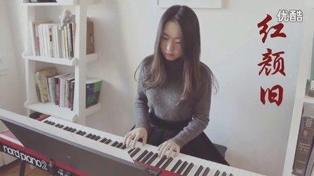 琅琊榜插曲-红颜旧 钢琴_tan8.com