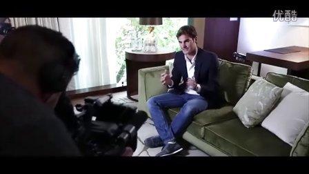鹿特丹赛事总监携荷兰媒体到苏黎世访问费德勒[2015年10月]
