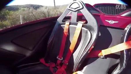 Rezvani发布Beast Speedster轻量化跑车试驾体验