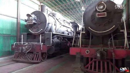 火车视频集锦:参观蒸汽机车