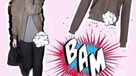 超模Kendal Jenner 的夹克穿搭示范