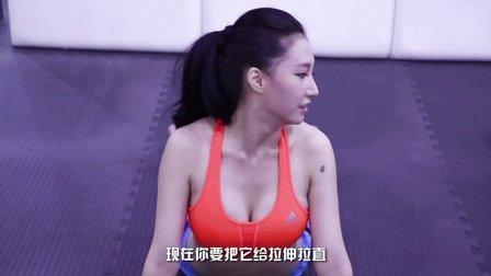 【牛男健身】海贼女帝coser腹肌撕裂法