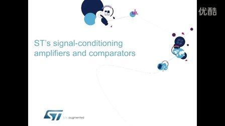 ST信号处理放大器和比较器