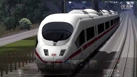TS2016(RW7) 模拟火车 ICE3高速列车 (慕尼黑-奥格斯堡)