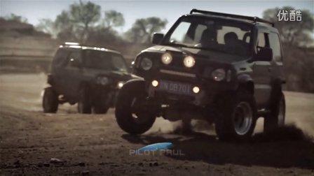 《SUZUKI Jimny II》热血硬派改装吉姆尼双车追逐越野大战