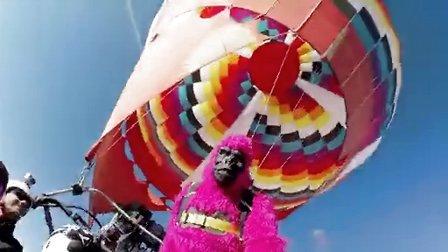GoPro:飞翔的猴子