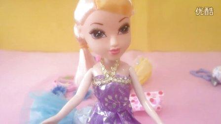 【橘子姐姐】芭比娃娃琪琪换衣服记