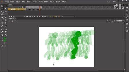 FLASH火柴人动画教程 003 走路的规律