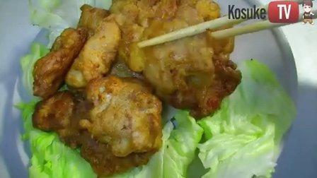 【公介料理】北京初雪 你吃炸鸡了吗? 一起做日式炸鸡【霓虹小朋友最爱的日式炸鸡】