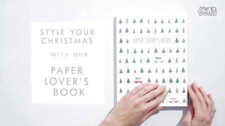 kikki.k 手帐Christmas Paper Lover's Book 圣诞贴纸本diy玩法|peachbaby桃子同学