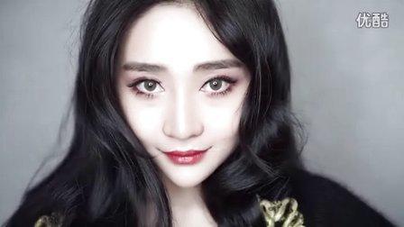 【刘展展Liz】欧美复古最爱红色眼妆 红色艳唇