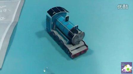 托马斯和他的朋友们 3D折纸拼图 火车轨道益智玩具 亲子互动小游戏