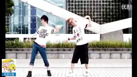 小爷们可以跳出如此的萌舞,好像停不下来了【幽默大把】